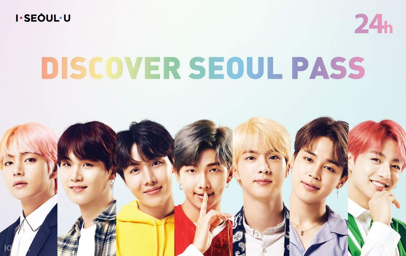 discover seoul pass bts edition